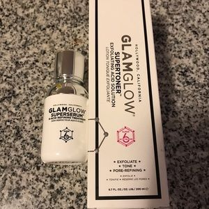 Glamglow supertiner and superserum